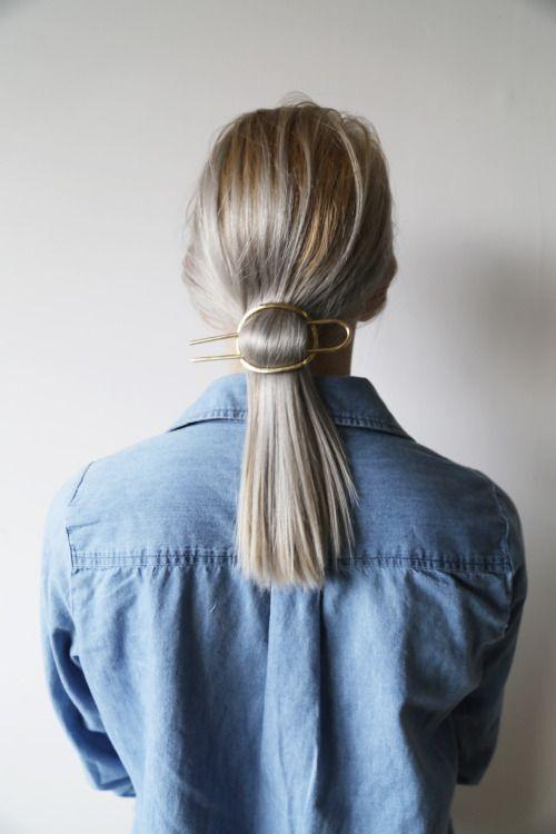 Blond włosy do pracy 2019
