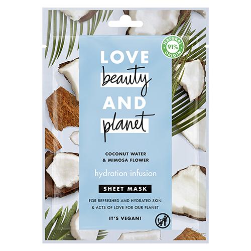 Maseczki w biodegradowalnej płachcie Love Beauty and Planet