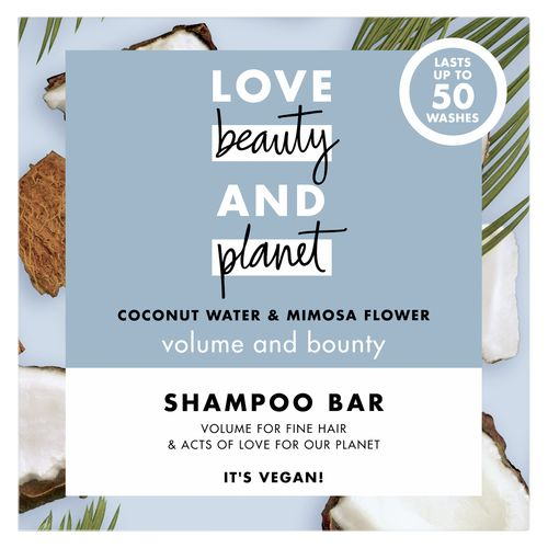 Love Beauty and Planet szampon w kostce