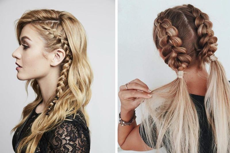 Najmodniejsze fryzury z warkoczami - 13 wspaniałych inspiracji