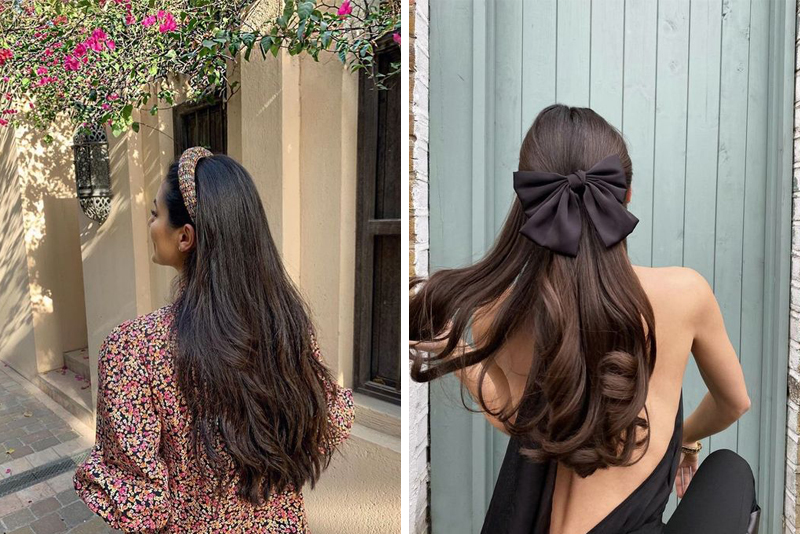 Modne inspiracje na ciemne długie włosy - TOP 13 pomysłów