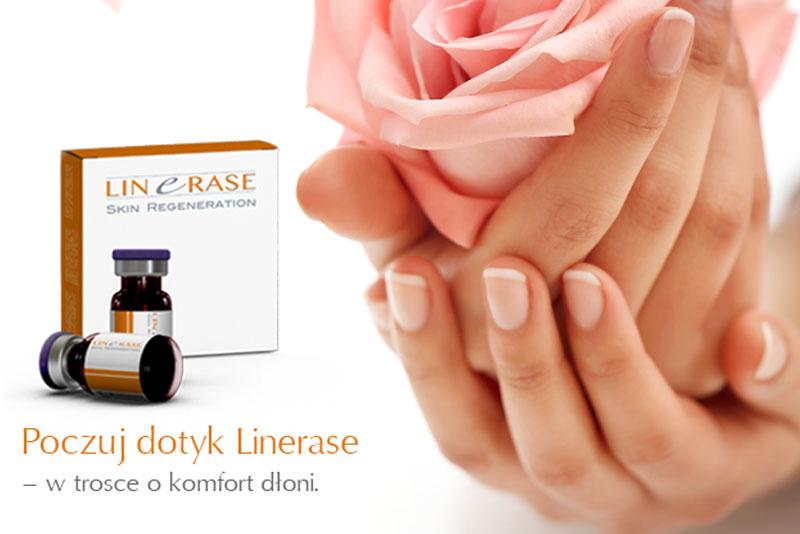 Poczuj dotyk Linerase – w trosce o komfort dłoni