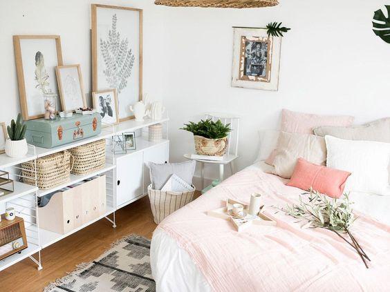 Pomysł na jasną sypialnię