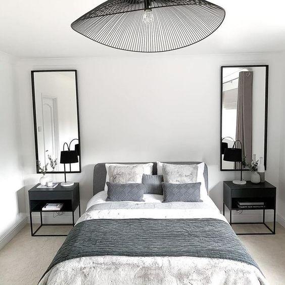 Pomysł na minimalistyczny wystrój sypialni