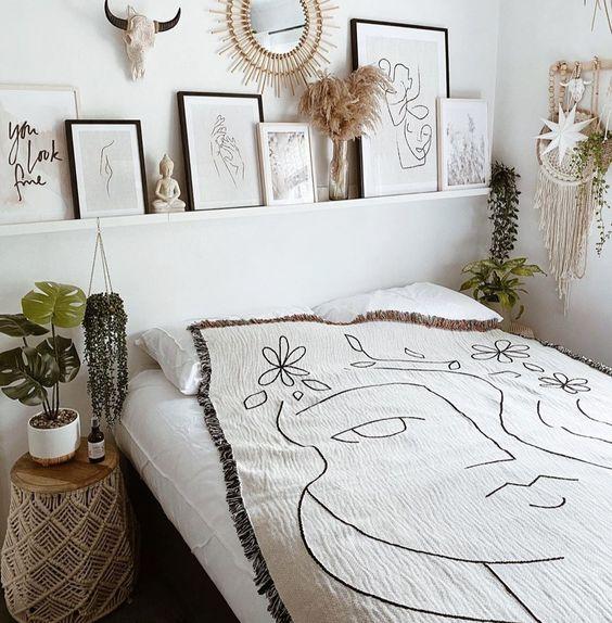 Pomysł na prosty wystrój sypialni