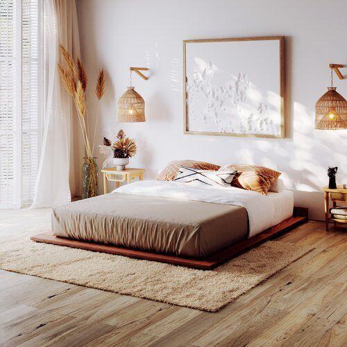 Pomysł na sypialnię w stylu boho
